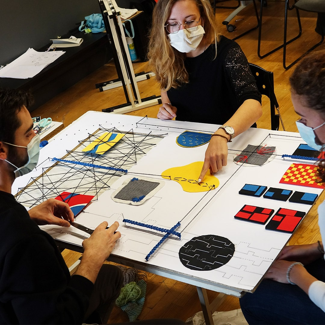 Workshop graphisme & textile